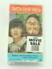 Drop Dead Fred VHS Video Store Clamshell Case Phoebe Cates Rik Mayall 1991