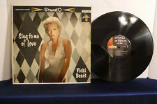 Vicki Benet, Sing To Me Of Love, Liberty LST 7103, 1959, Pop, Easy Listening