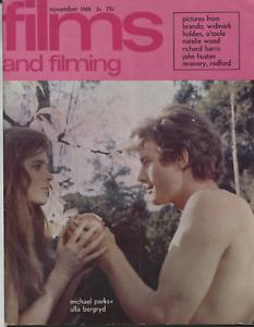 Films and Filming: November 1966 - UK Magazine - Oskar Werner