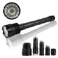80000LM  XMK-T6 L2 5Mode LED Super Bright Lampe torche de poche étanche DW