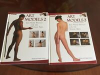 Art Models 2 & 3 Life Nude Photos for the Visual Arts •Books & CDs - Excellent•