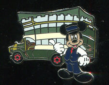 DLR Main Street USA Area Vehicles Mickey Mouse Omnibus Disney Pin 70850