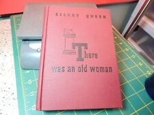 """Vtg.1943 Ellery Queen There was an Old Woman"""" Who Lived in a Shoe Hardcover Book"""