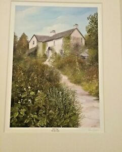 Hill Top House Far Sawrey, Beatrix Potters home by Ann Celia - Mounted signed