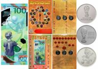 ✔ Russia for 25 rubles Fifa World Cup 2018 and 100 rubles 2018 in album UNC