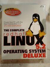 RHEL 5.2 Red Hat Enterprise Linux Deluxe   Original Big Box