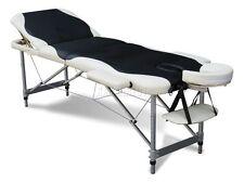 3 Section Léger Pliant Portable Massage Table De Luxe Beauté Canapé Lit