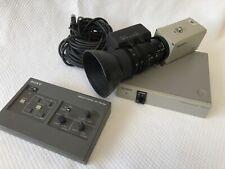 DXC-930P 3CCD et VCL-712BXEA et CMA-D2CE et RM-930 et Câble-Tout le kit!