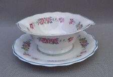 Ancienne saucière en porcelaine Ulim LIMOGES art de la table french antique