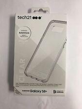 Samsung Galaxy S8+ Tech21 Clear White EVO CHECK Case Cover T21-5584
