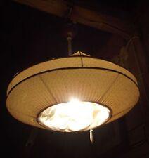 HÄNGELAMPE Wohnzimmerlampe um 1930 Igelit Deckenlampe