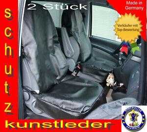 2 Stück Werkstattschoner Autositze Kunstlederschoner Schonbezüge Sitzbezüge