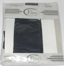 FLIRT Designer Navy Semi Opaque Tights Size UK 8-12 -  A027.68