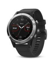 Garmin Fenix 5 Trasera Black/Edición Plata Multi Sport Watch GPS Muñeca Medida