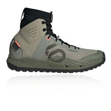 Five Ten Mens Trail Cross Pro Mid Mountain Bike Shoes - Grey Sports Breathable
