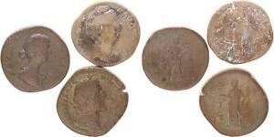 Lot 3 Sesterzen Antike / Römische Kaiserzeit  (43971)