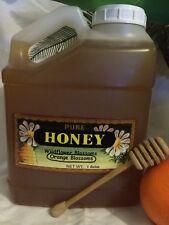 1 Gallon RAW Orange Blossom Honey Pure Natural, non-filtered, Fresh 2018