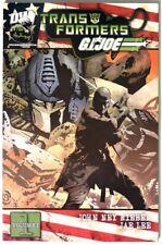 S05006. Transformers/G.I. Joe Vol. 1 Trade Paperback by Dw (2004) First Printing