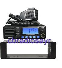 CB Radio TTI TCB 900 AM/FM 12/24V with Front Speaker & DIN Bracket Facing Plate