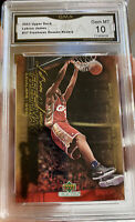 2003 Upper Deck LeBron James rookie Freshman Season #37 GEM Mint 10 Lakers