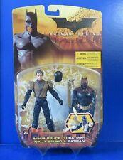 Batman Begins Ninja Bruce To Batman Action Figure ~ 2005 Mattel ~ Nib New