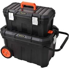 Tool Box With Wheels Rolling Heavy Duty Technician Chest Mobile Tools Organizer