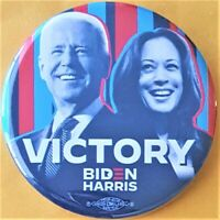 Joe Biden Kamala Harris Victory Campaign Button from Minnesota Democratic Party