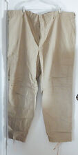 Combat Trousers Made in USA Ripstop 100% Cotton Cargo Pants Button Fly  3XL NWOT