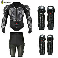 Motorcycle Spine Chest Body Protector Guard Dirt Bike Moto Armour Hip Shorts