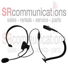 Single ear with boom mic headset Hytera DMR series PD702 PD782 PD782G PD702G