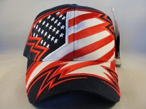 USA 2002 Salt Lake Olympics Vintage Adjustable Strap Cap Hat American Needle