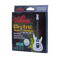 Alice Electric Guitar Strings Nickel Alloy Wound Set Hexagonal Core AE530