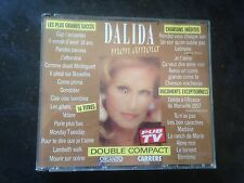 "DALIDA - RARE DOUBLE CD ""DALIDA MON AMOUR"