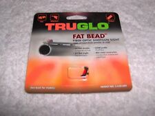 TruGlo Fat-Bead Shotgun Replacement Front Sight, 5-40 Thread Size, Red 948DR