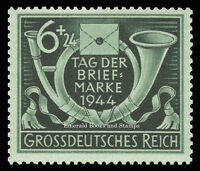 EBS Germany 1944 Stamp Day - Tag der Briefmarke - Michel 904 MNH**