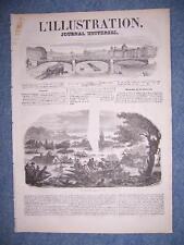L'ILLUSTRATION 192 DU 31/10/1846 PORTUGAL PORTO PALMELLA - TRAIN LIEGE A CHENEE