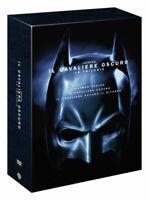 3 Dvd Box Cofanetto IL CAVALIERE OSCURO - TRILOGIA BEGINS RITORNO serie completa