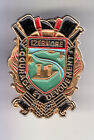 RARE PINS PIN'S .. POMPIER FIRE CASERNE BLASON TEMPLE ROMAIN IZERNORE 01 ~CD