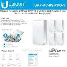 Ubiquiti UAP-AC-IW-PRO-5 UniFi AC1750 In-Wall AP International Version (5-pack)