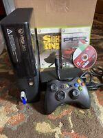 Microsoft Xbox 360 E 16GB Model 1538 Controller Games Console BUNDLE TESTED