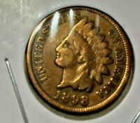1898 INDIAN HEAD CENT--120 years old