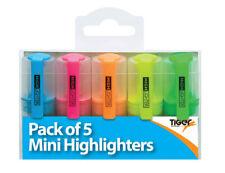 Pocket Size Highlighter Pen Highlighting Tiger School Stationary Office Work Fun