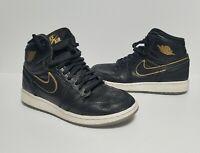 Nike Air Jordan 1 Retro High OG 575441-031 City Of Flight Black Gold Sz 4.5 Y