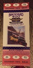 1994 Brickyard 400 Winner Jeff Gordon Ticket Stub NASCAR Indianapolis Inaugural