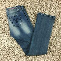 Vigoss Jeans Men Sz 28x32 Blue Jeans Skinny Pants Denim NICE