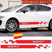 Kit Laterales Vinilos Adhesivas Decal Stickers Seat Leon Ibiza Sport RS Toledo