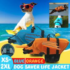 Dog Cat Poppy Pet Saver Life Swimming Float Vest Jacket Reflective Preserver