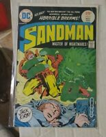 SANDMAN # 2  1975 DC COMICS +JACK KIRBY ! VS EVIL DR SPIDER