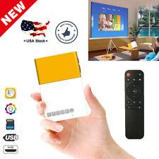 Mini Portable LCD Multimedia LED Projector Full HD 1080P USB HD /MI AV TV VGA SD