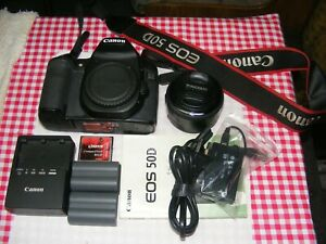 Canon 50d DSLR with lens and extras. 15 MGP  6 FPS